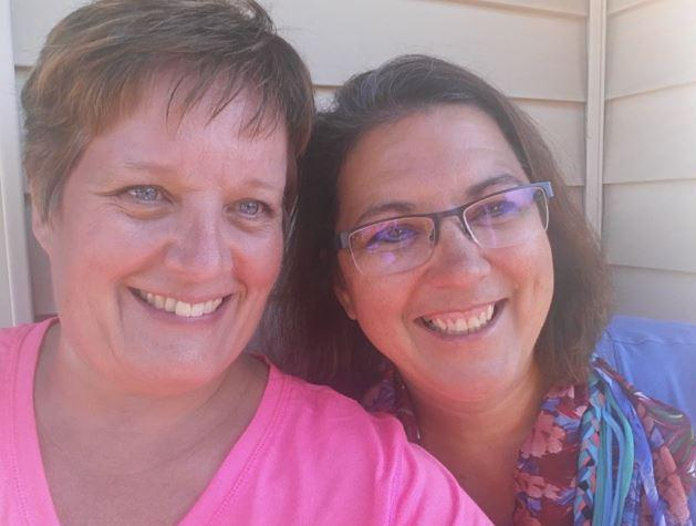 Dawn Romine and Julie 09012016