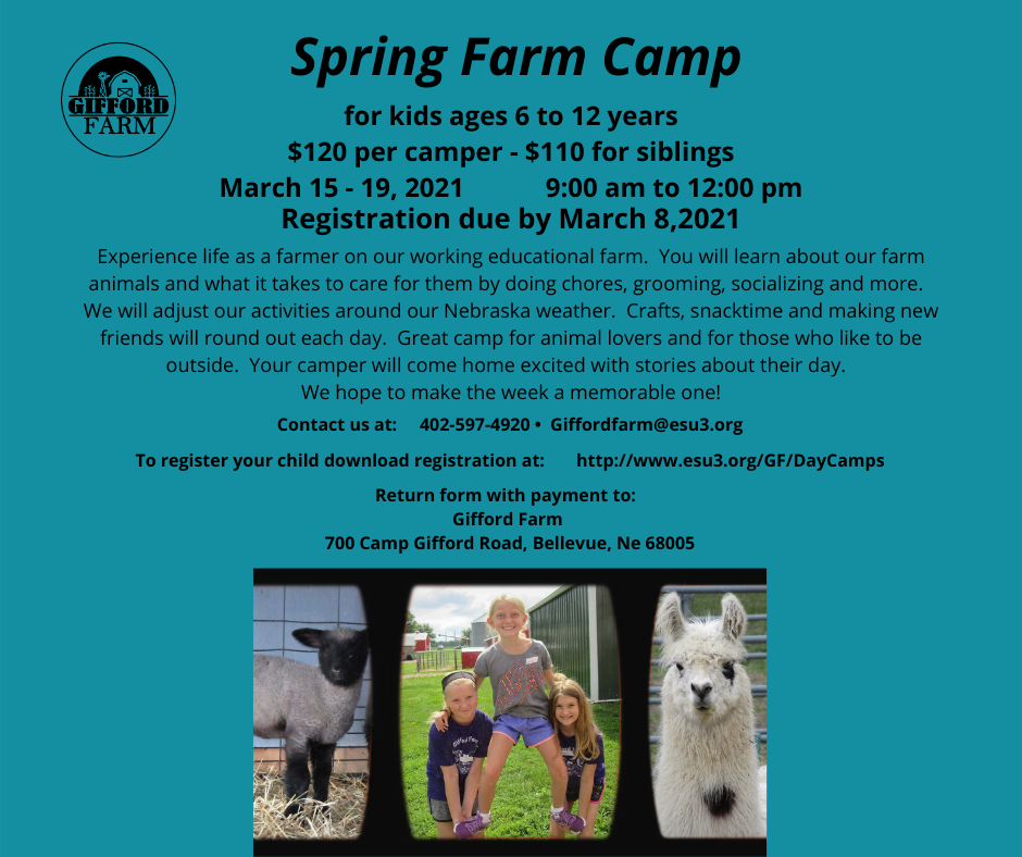 Spring Break Farm Camp 1