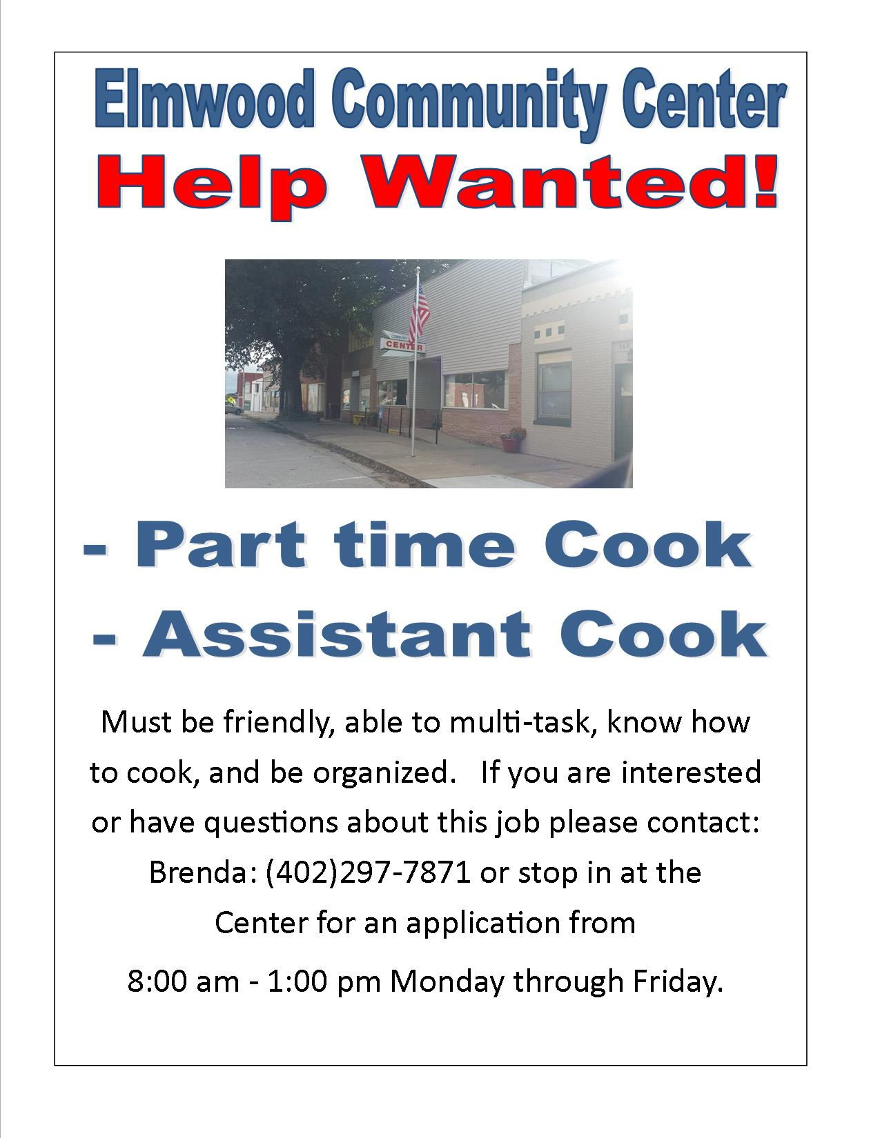 ECC Help Wanted 04 14 2019