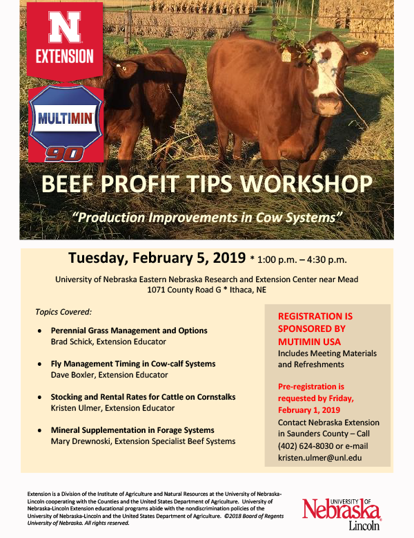 Beef Profit Tips Workshop 2.5.19 ENREC
