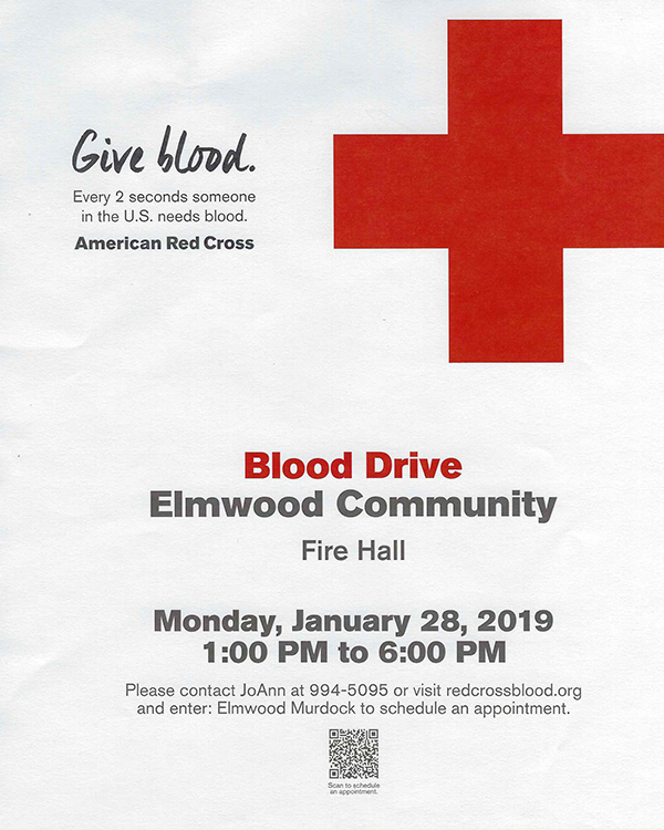 BloodDrive Elmwood Jan 2019